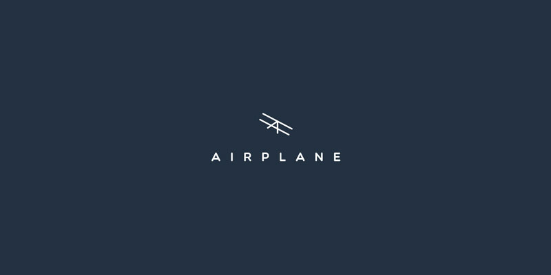 Airplane Logo Concept by Andrey Karpov