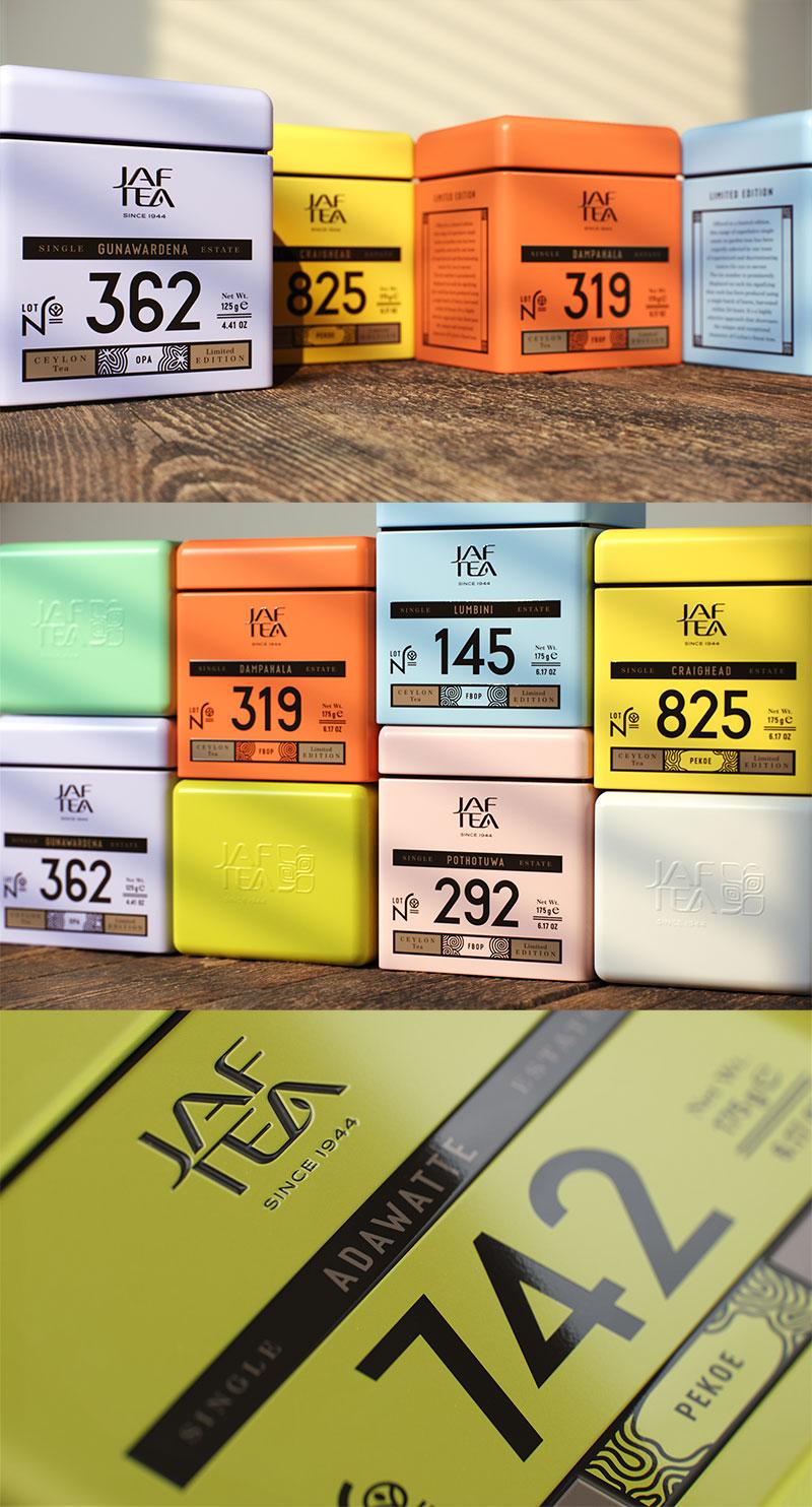 Jaf Tea packaging