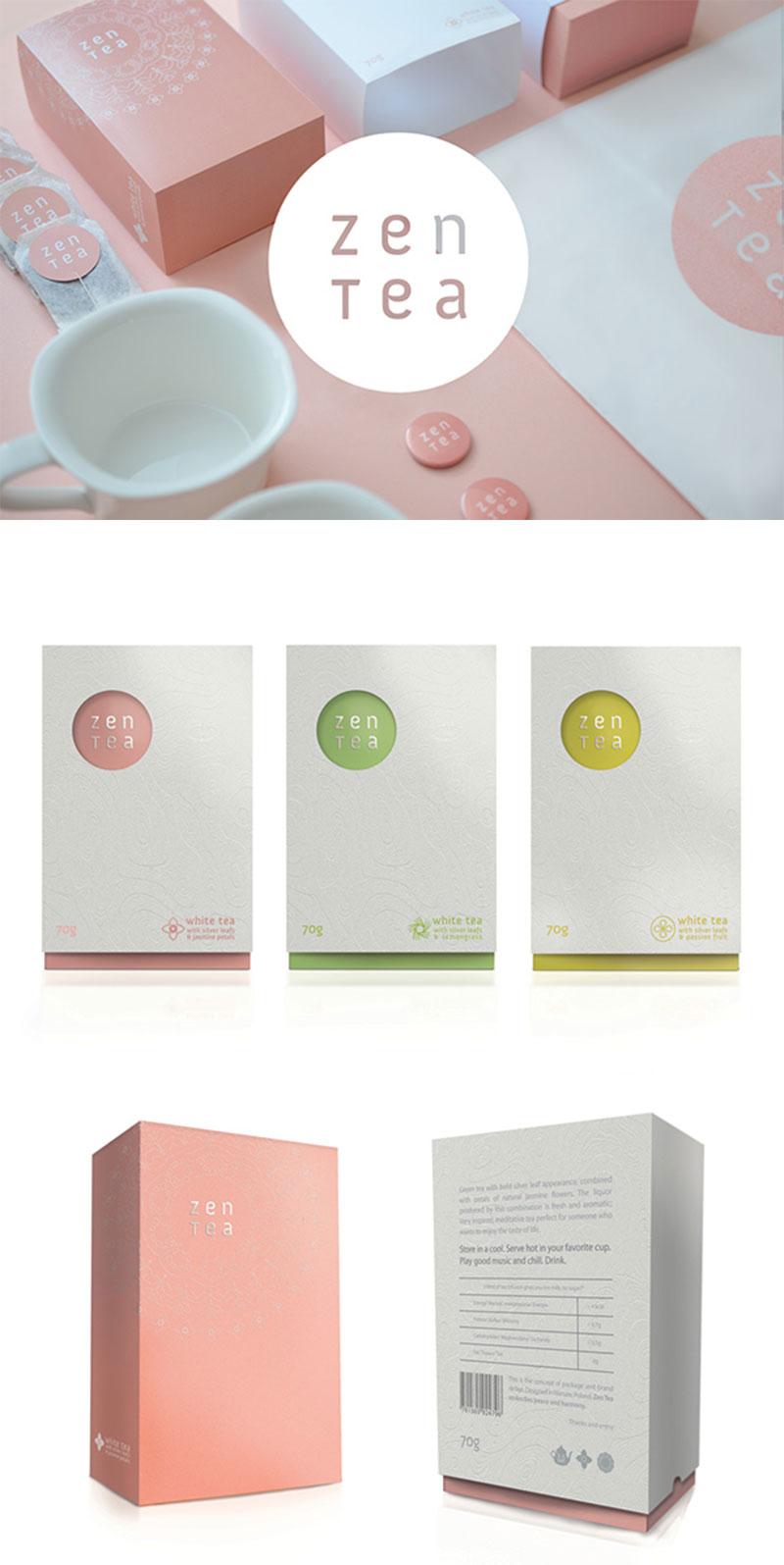 Zen Tea by Konrad Sybilski