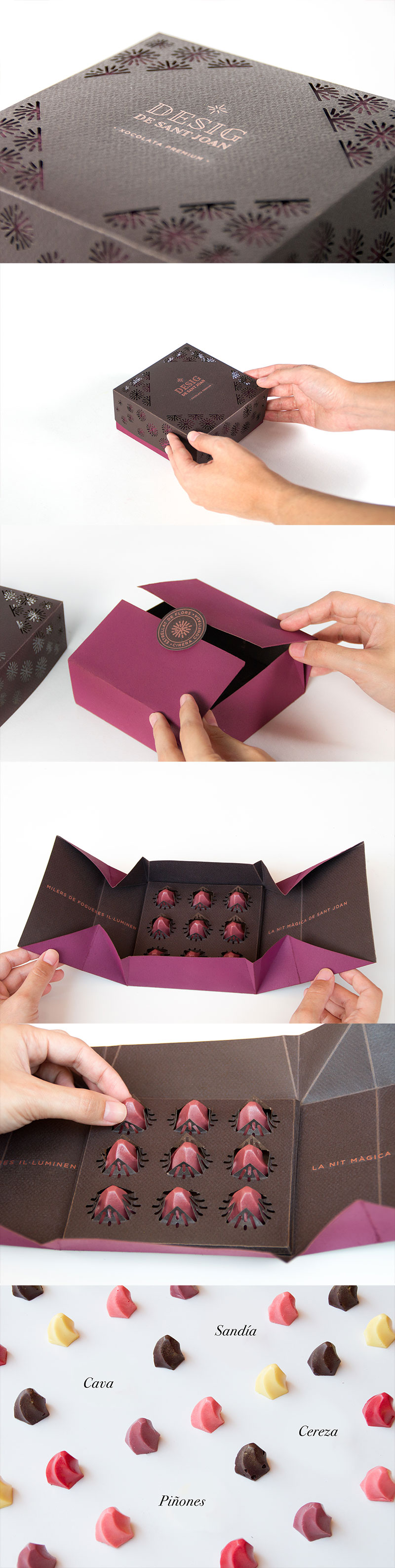 Desig de Sant Joan Chocolate Branding and Packaging