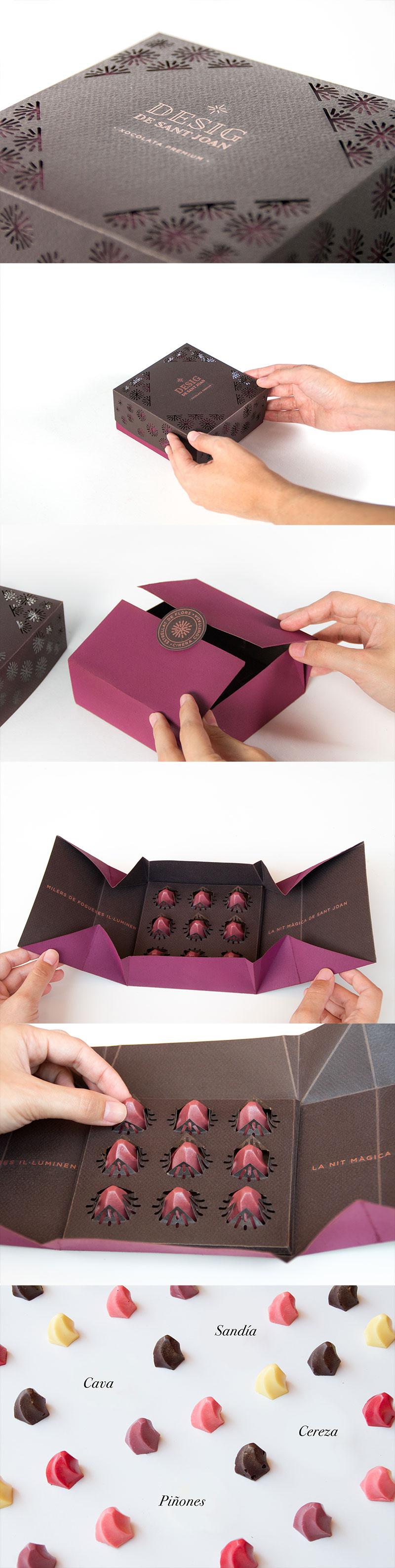 Desig de Sant Joan Chocolate Branding and Packaging