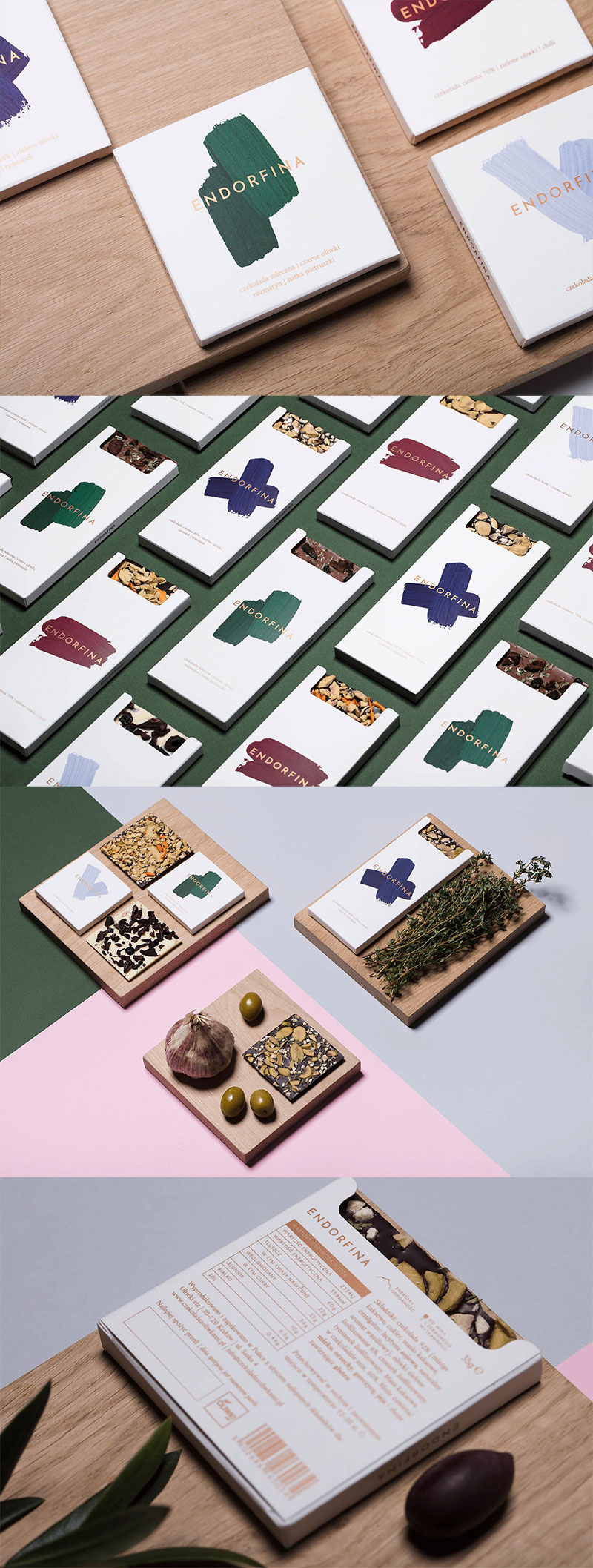 Endorfina Chocolate Branding & Packaging