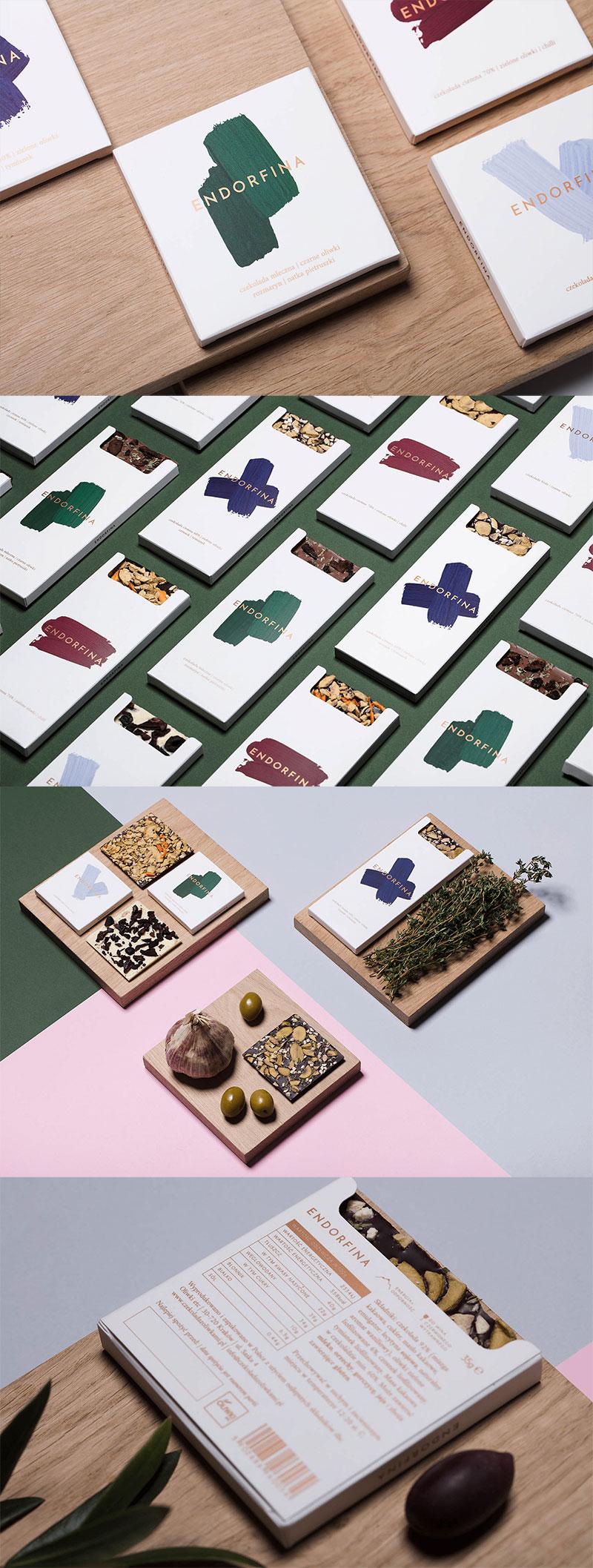 Endorfina Chocolate Branding & Packaging