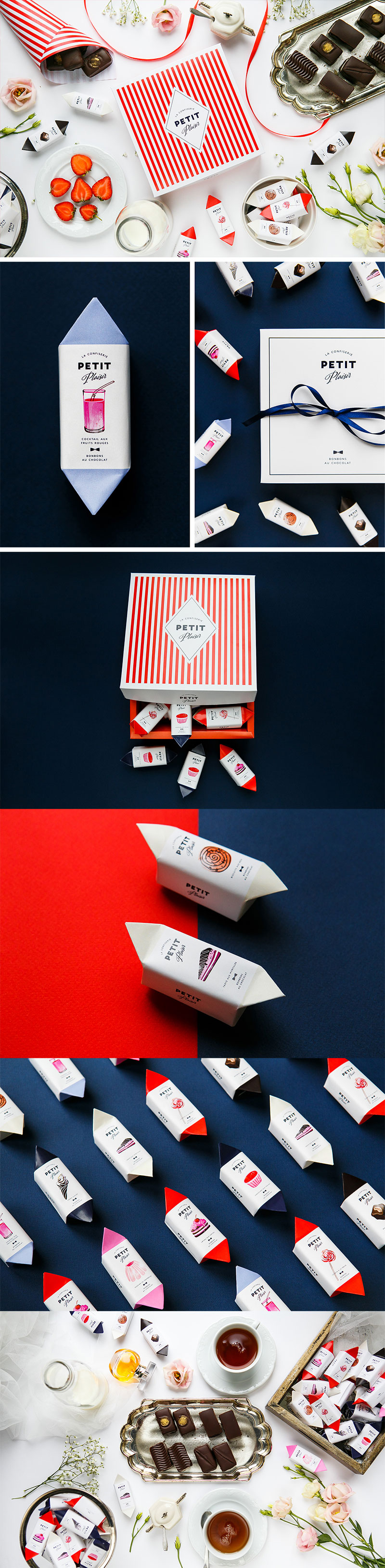 Petit plaisir Chocolate Branding and Packaging