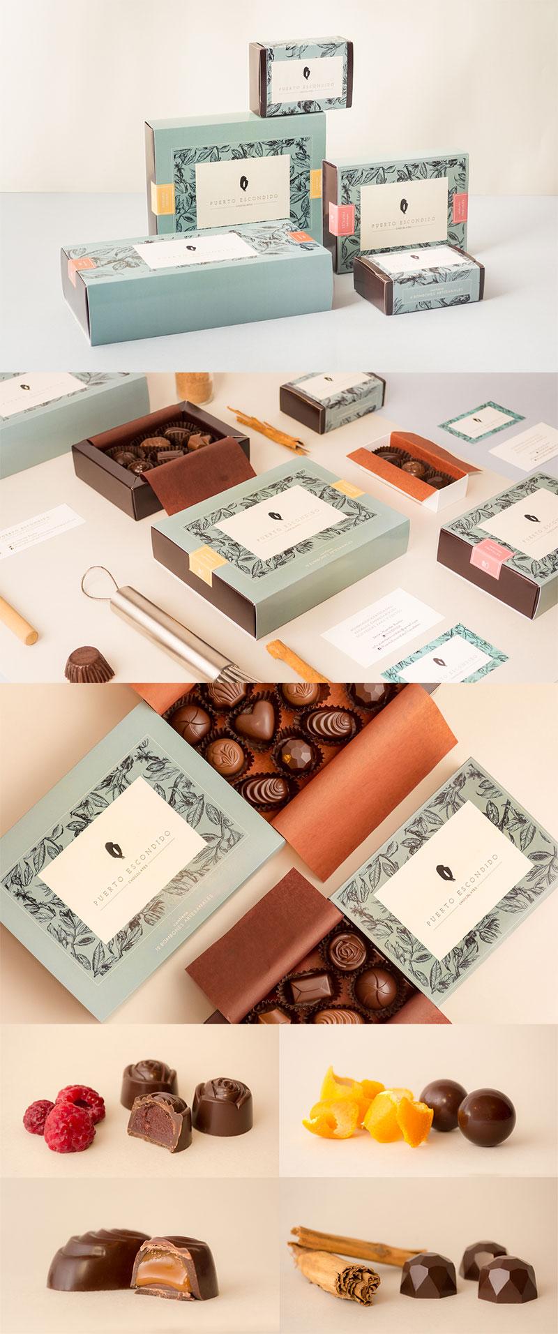 Puerto Escondido Chocolates by Agustina Camilión