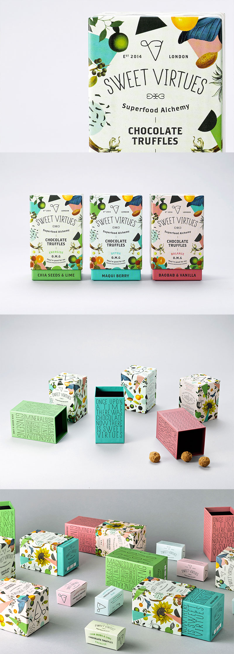 Sweet Virtues by IWANT design
