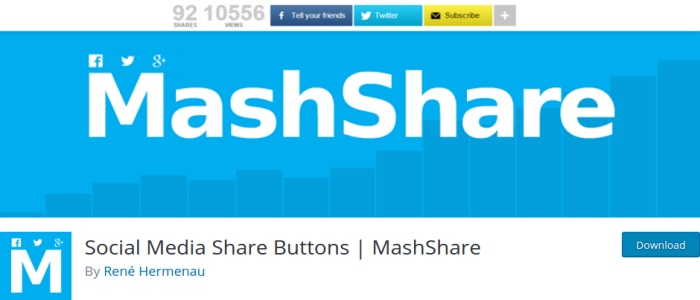 Social Share Buttons _ MashShare