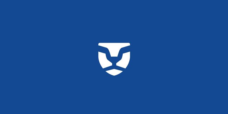 Lion + Shield Security Logo de Alex Tass - Logos de seguridad