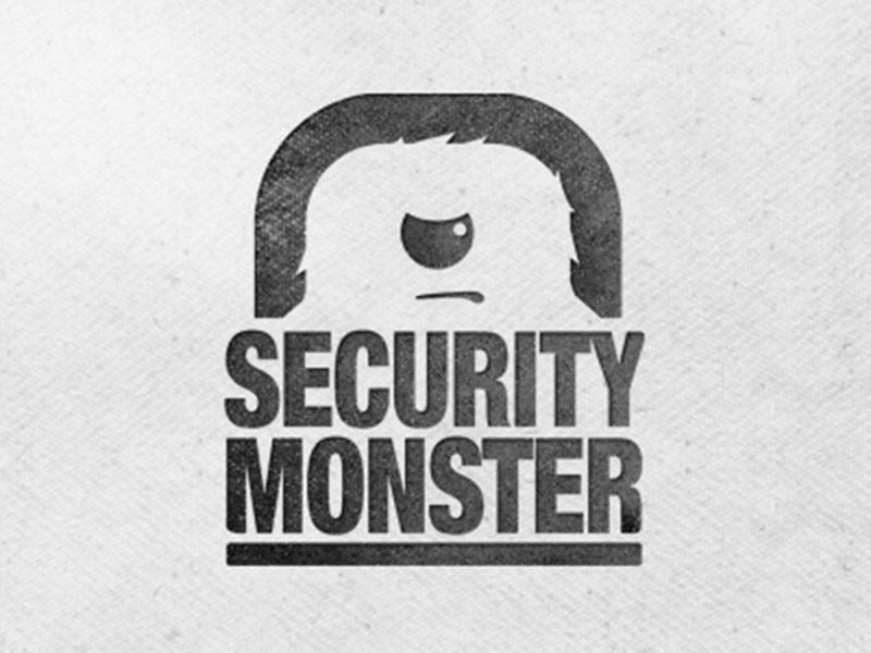 Security Monster Logo v4 by Bryce - Security Logos