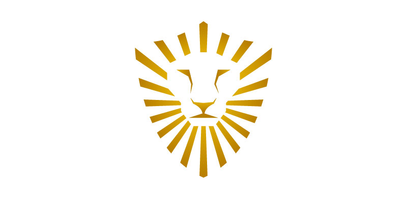 Lion + Shield. Security Company Logo Design by Adrian Brand - Security Logos