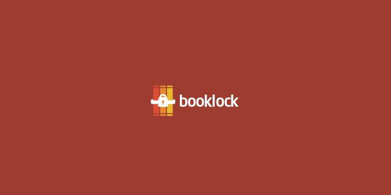 Booklock Logo by Alex Kirhenstein - Security Logos