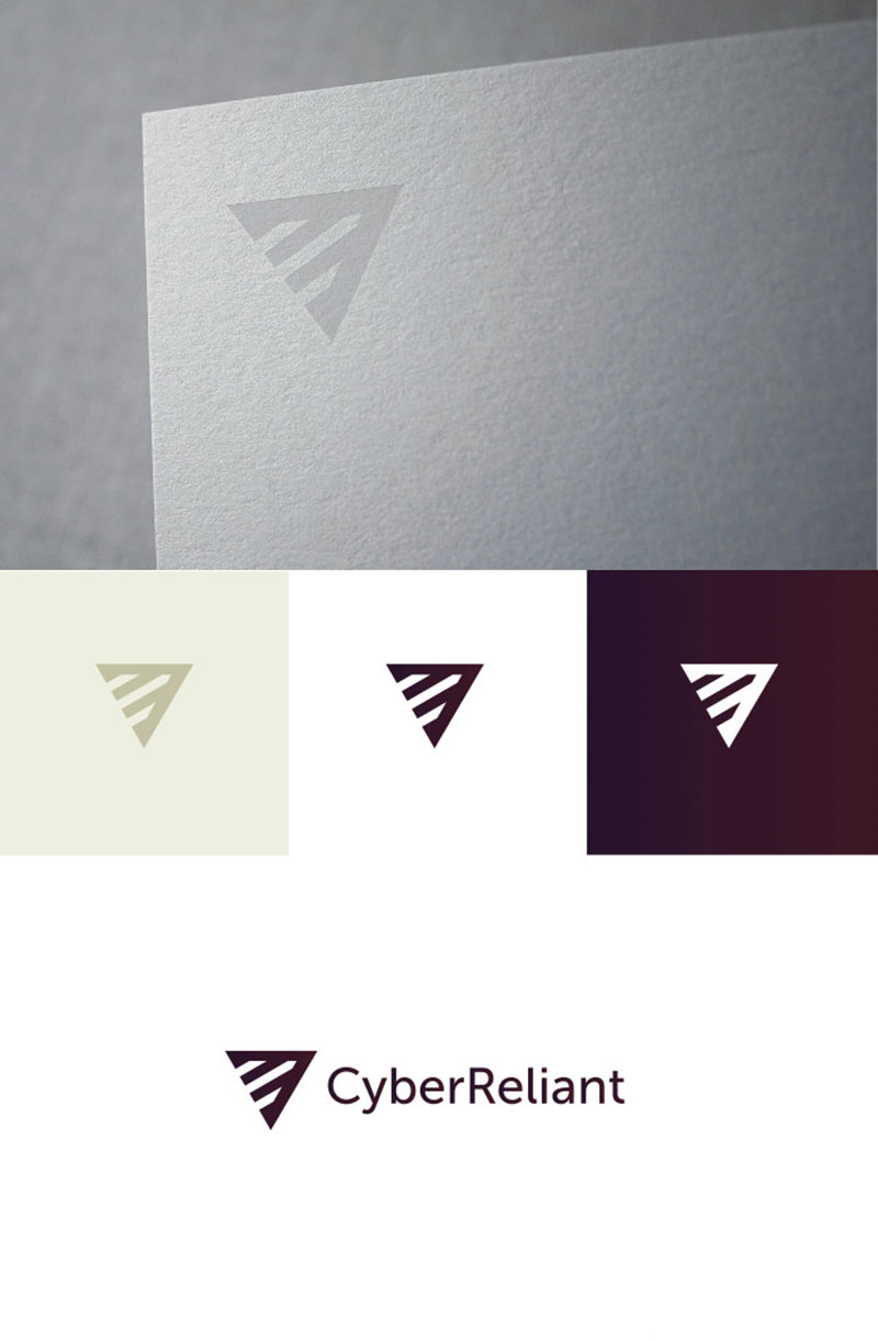 Cyber Reliant Brand by Bill S Kenney - Security Logos