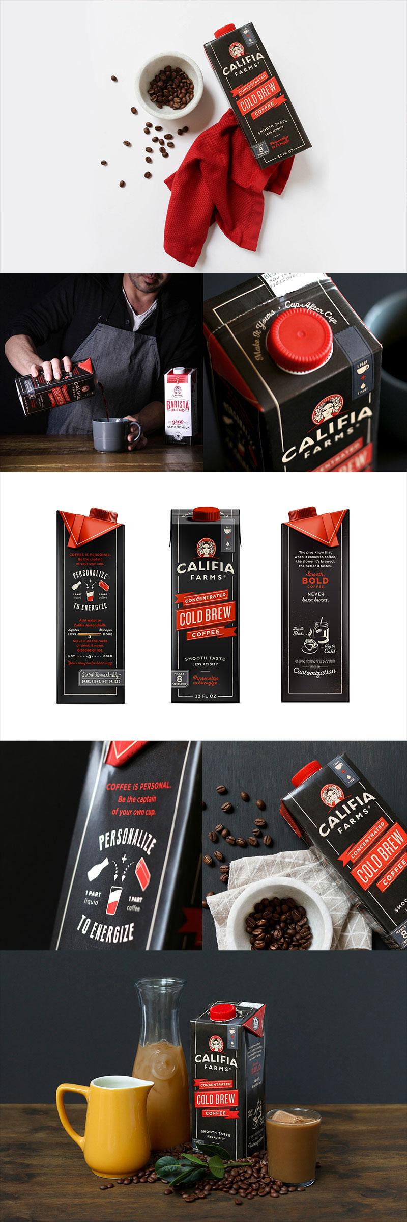 Califia Farms - Concentrated Cold Brew Coffee by Farm Design