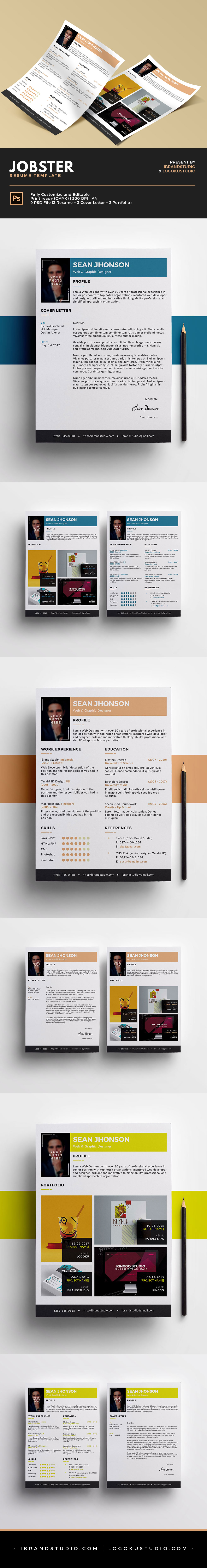 Free Jobster Resume Template