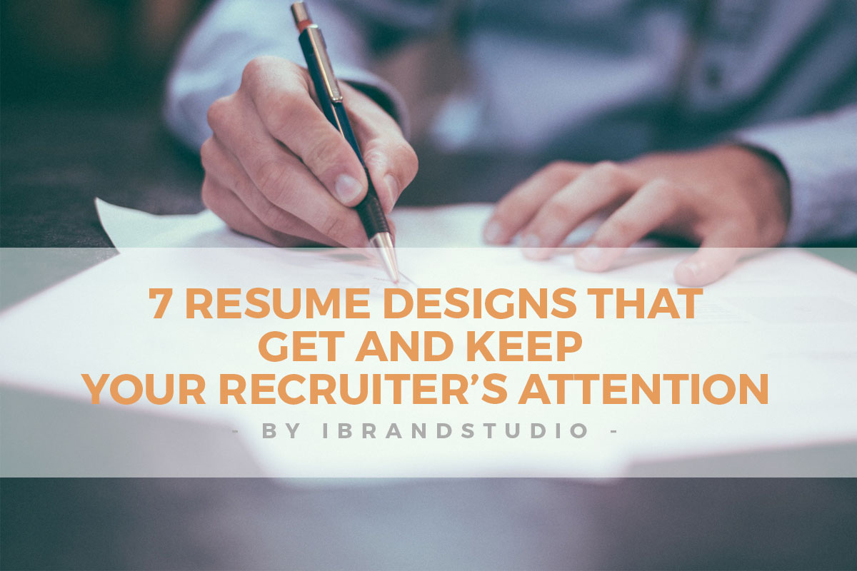 7 Resume Design Tips with Examples