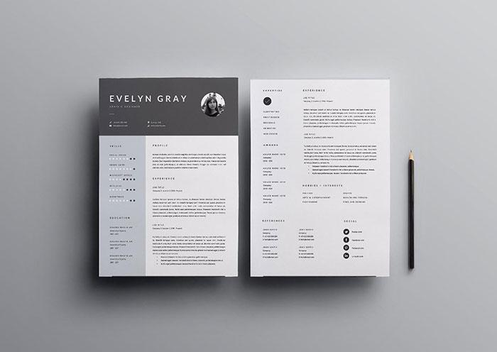 Resume Design by BlackDotResumes