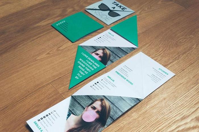 Resume Design by Amber Van Mieghem
