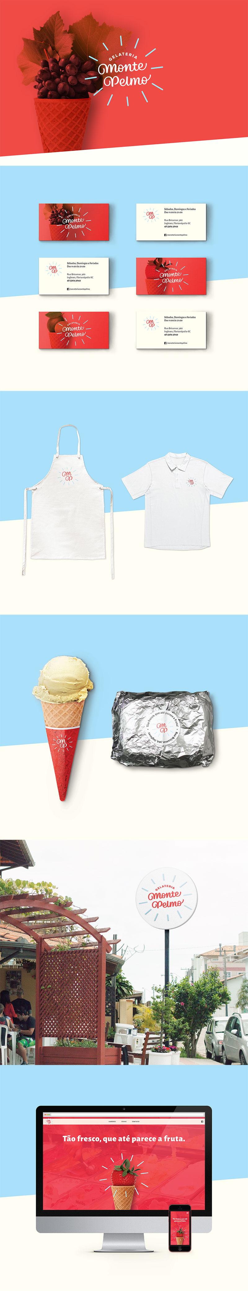 Envasado de helado - Gelateria Monte Pelmo
