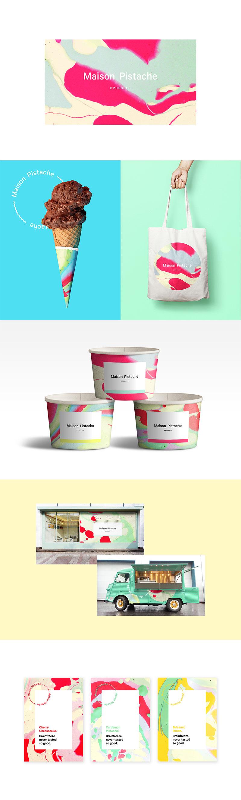 Envasado de helados - Maison Pistache