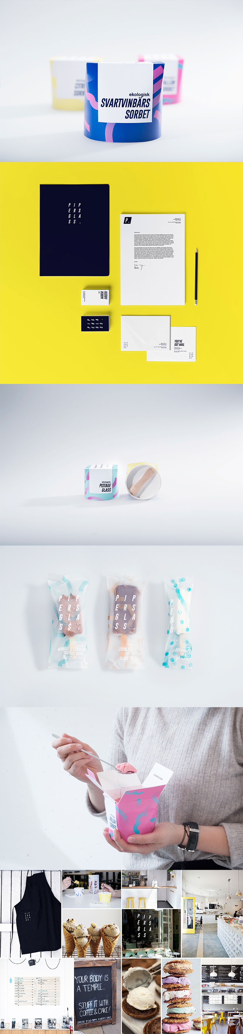 Ice Cream Packaging - Pipersglass