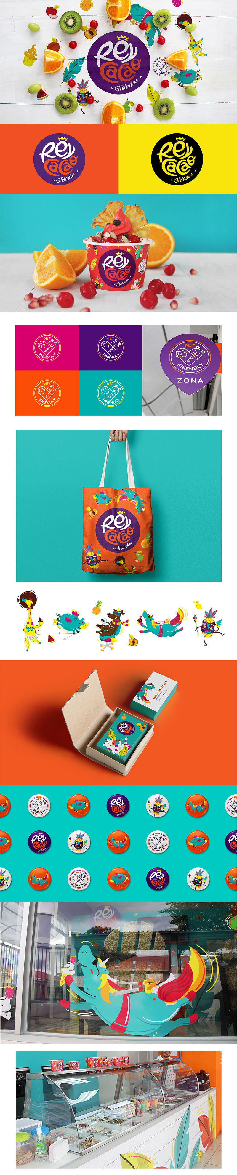 Ice Cream Packaging - Rey Cacao