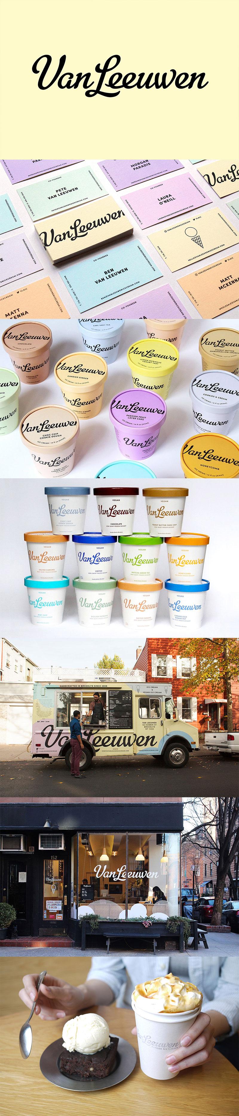 Ice Cream Packaging - Van Leeuwen Artisan Ice Cream