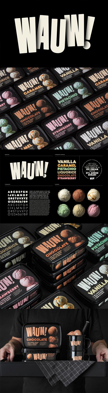Envasado de helado - ¡Wauw!  por Snask