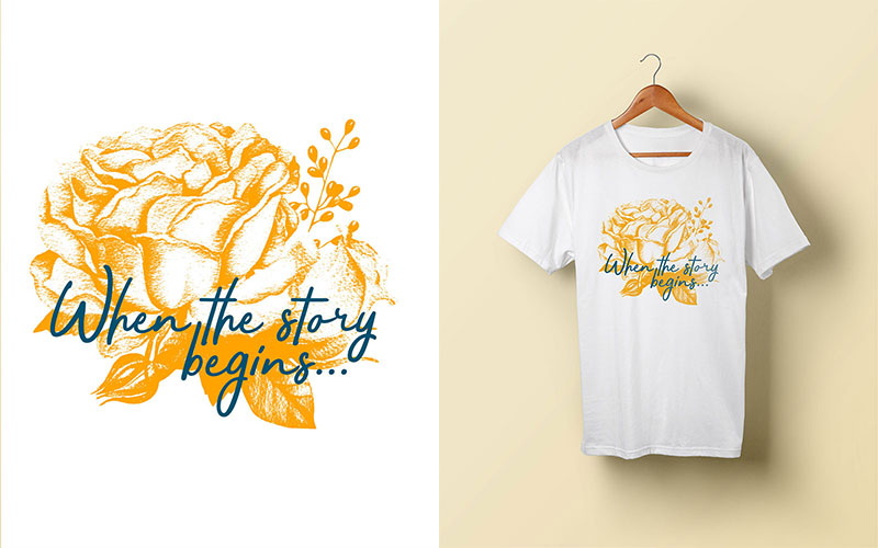 Custom T-Shirt Design Photoshop Tutorial