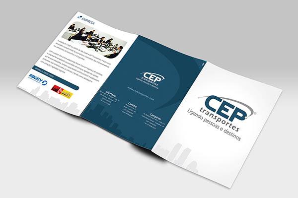Ejemplos de marketing de impresión - CEP Transportes