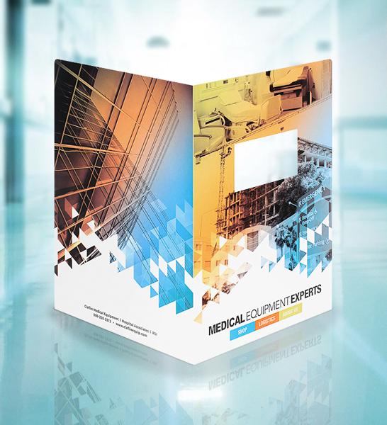 Print Marketing Examples - Claflin Medical Equipment