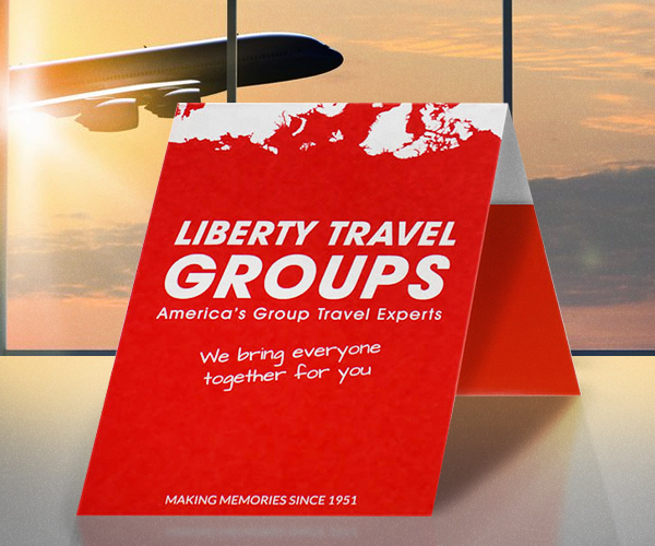 Print Marketing Examples - Liberty Travel