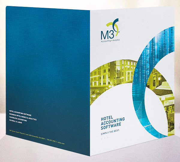 Print Marketing Examples - M3 Accounting & Analytics