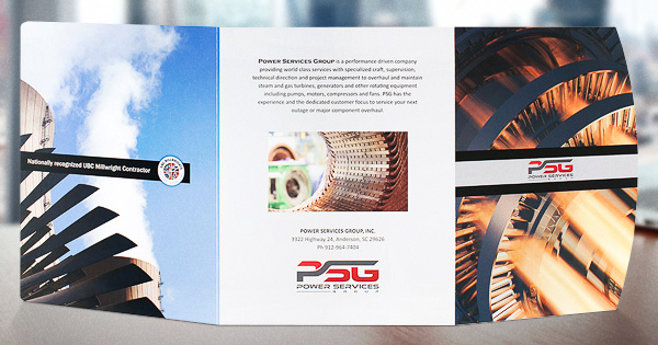 Print Marketing Examples - Power Services Group