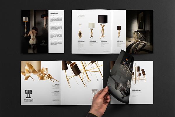 Ejemplos de marketing de impresión - Raferia Rochi