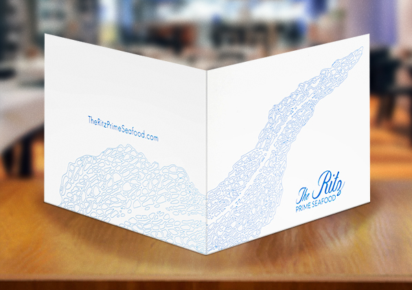 Print Marketing Examples - The Ritz Prime Seafood