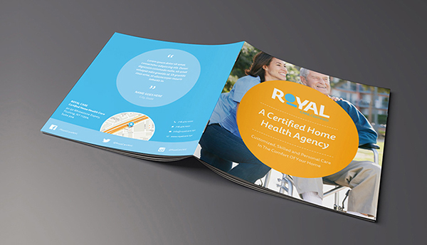 Print Marketing Examples - Royal Care