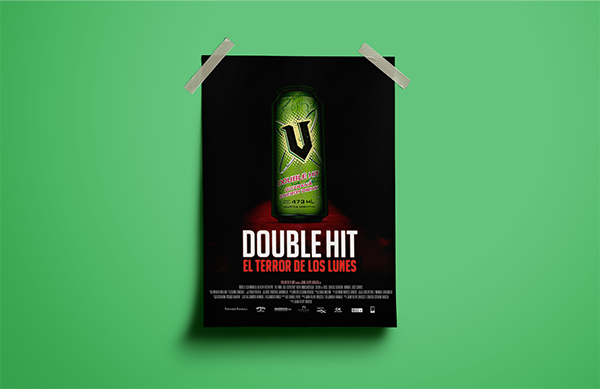 Print Marketing Examples - V Energy Drink
