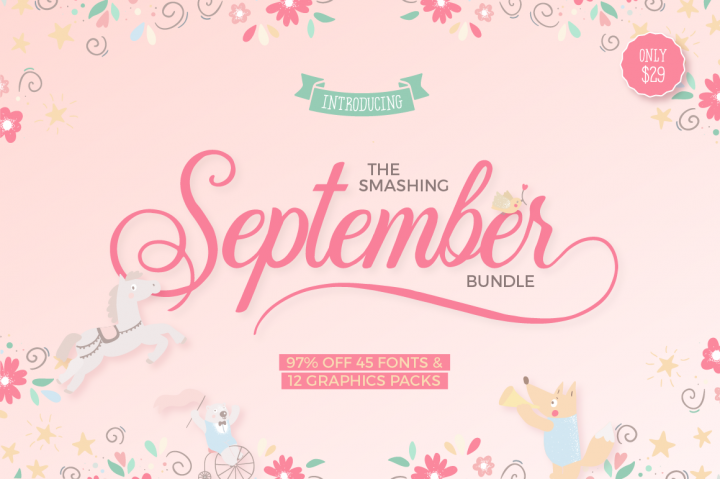 The Smashing September Bundle
