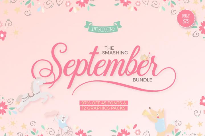 The Smashing September Bundle