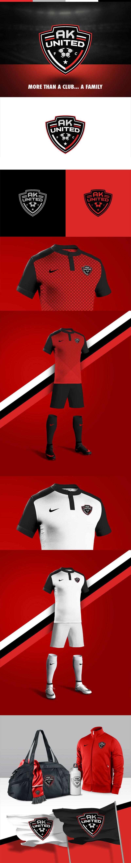Diseños de la marca del club de fútbol: AK United FC por Brandon Williams