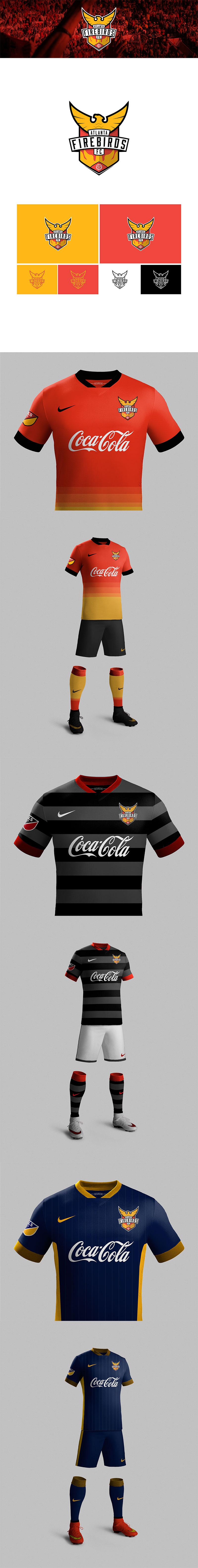 Diseños de la marca del club de fútbol: Atlanta MLS Team por Carlos Sanchez