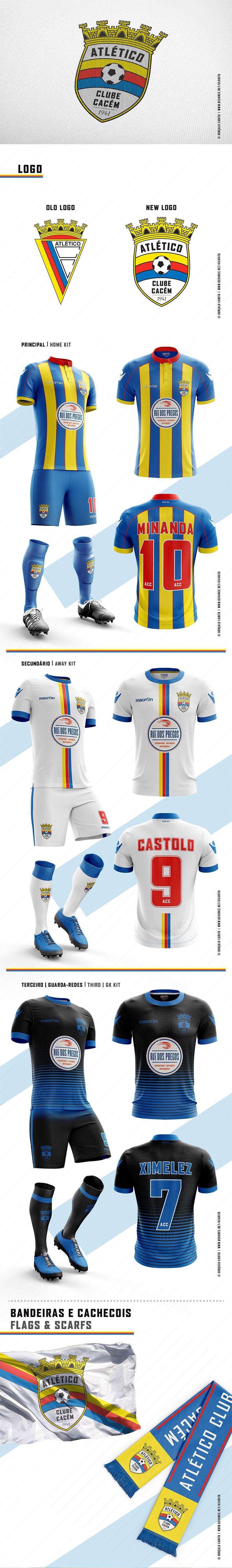 Atlético Clube do Cacém - Rebrand Concept por Gonçalo Carita