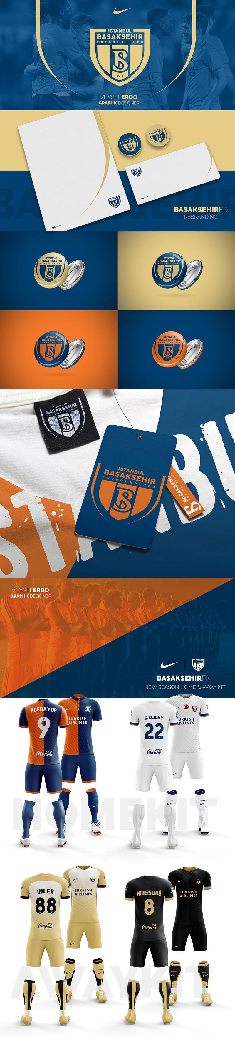 Basaksehir FK Rebranding by Veysel Erdogan