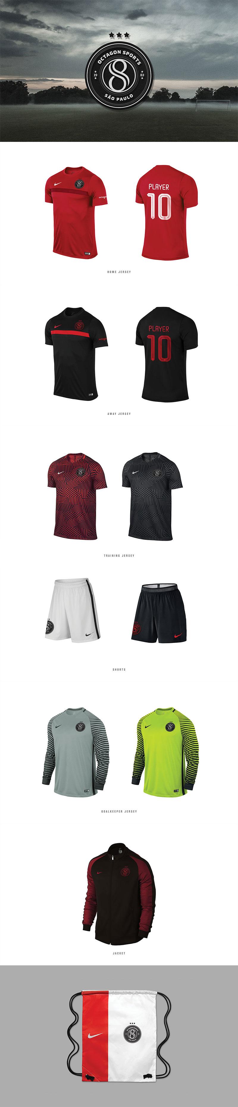 Branding Octagon São Paulo Footballl Team by Ricardo Carvalho