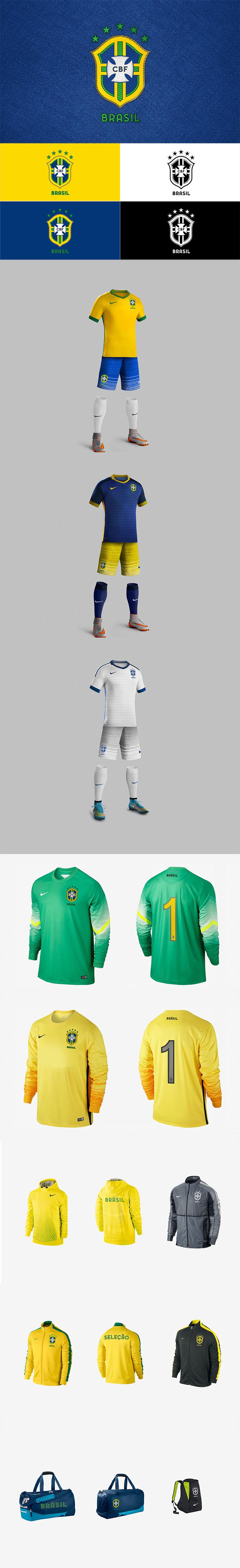 Diseños de la marca del Club de Fútbol: Marca del equipo brasileño por Ricardo Carvalho