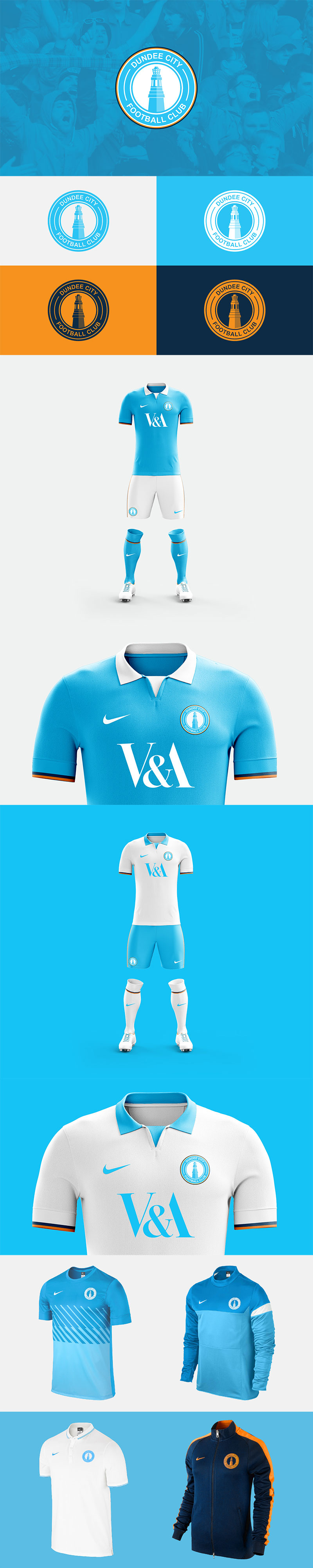 Diseños de la marca Football Club: Dundee City Football Club por Ryan McGinnis