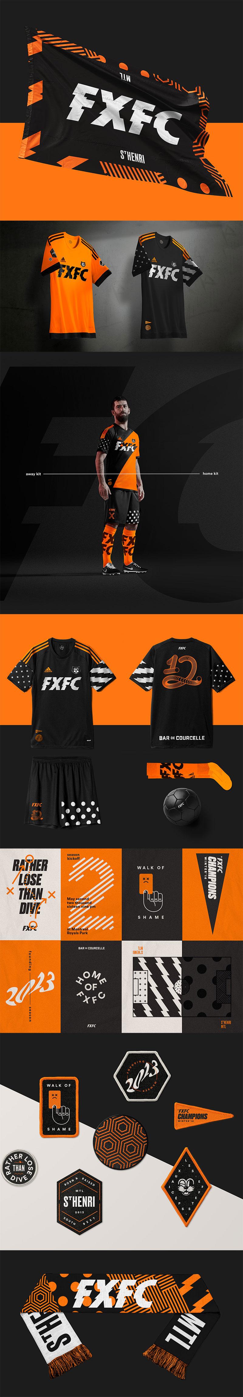 Club de fútbol FXFC por Philippe Cossette