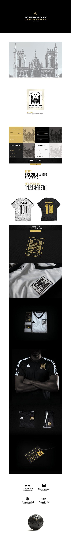 Diseños de la marca del club de fútbol: Rosenborg BK Soccer por Bruno A. Cervantes Costa