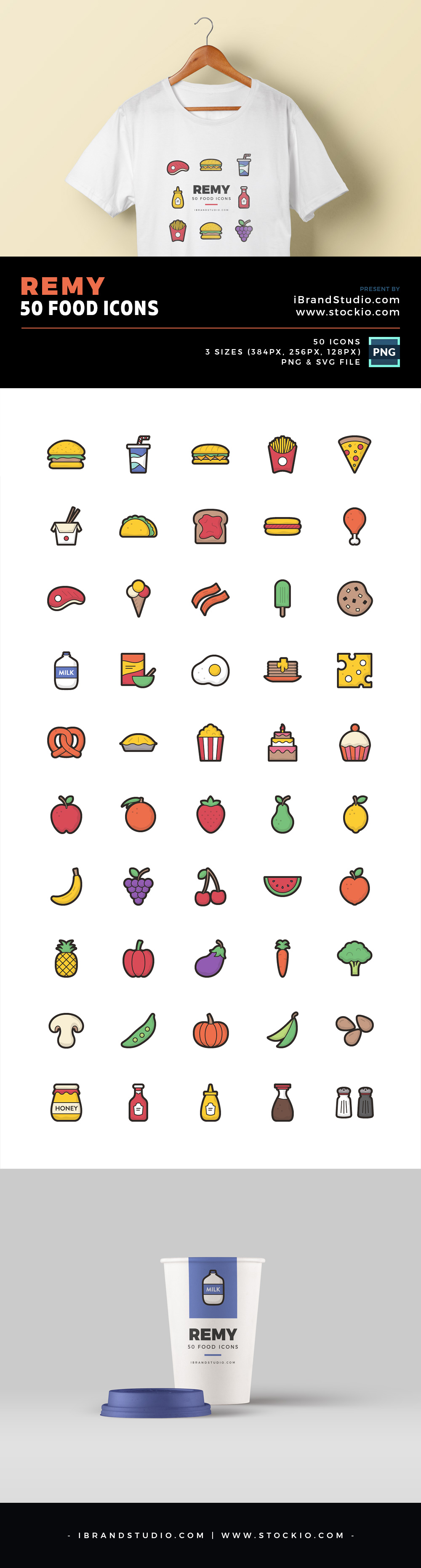 Remy - Free Food Icons