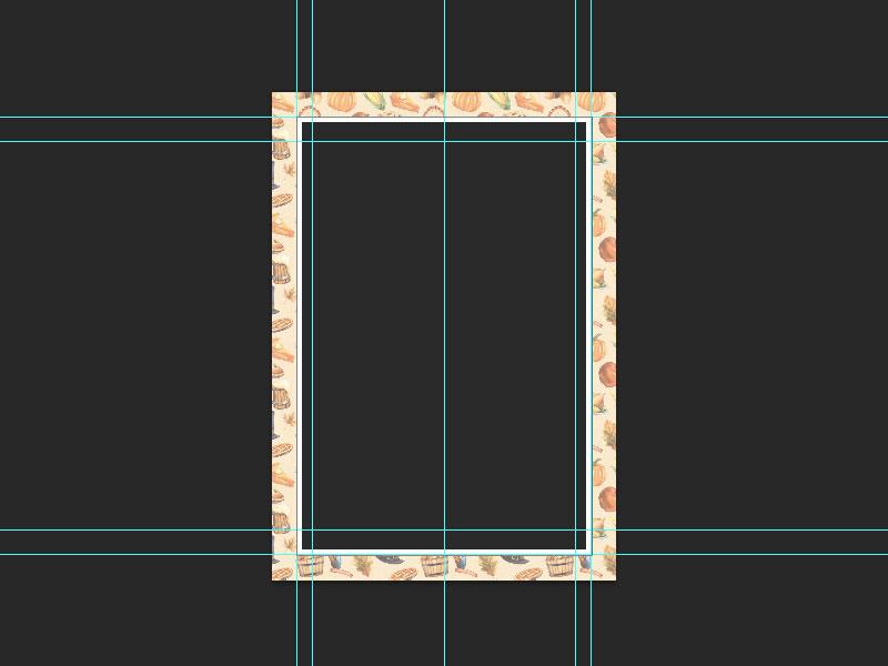 Step 3-Restaurant Menu Card Photoshop Tutorial